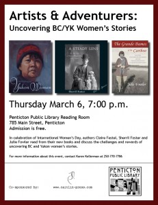 March 6 Penticton library
