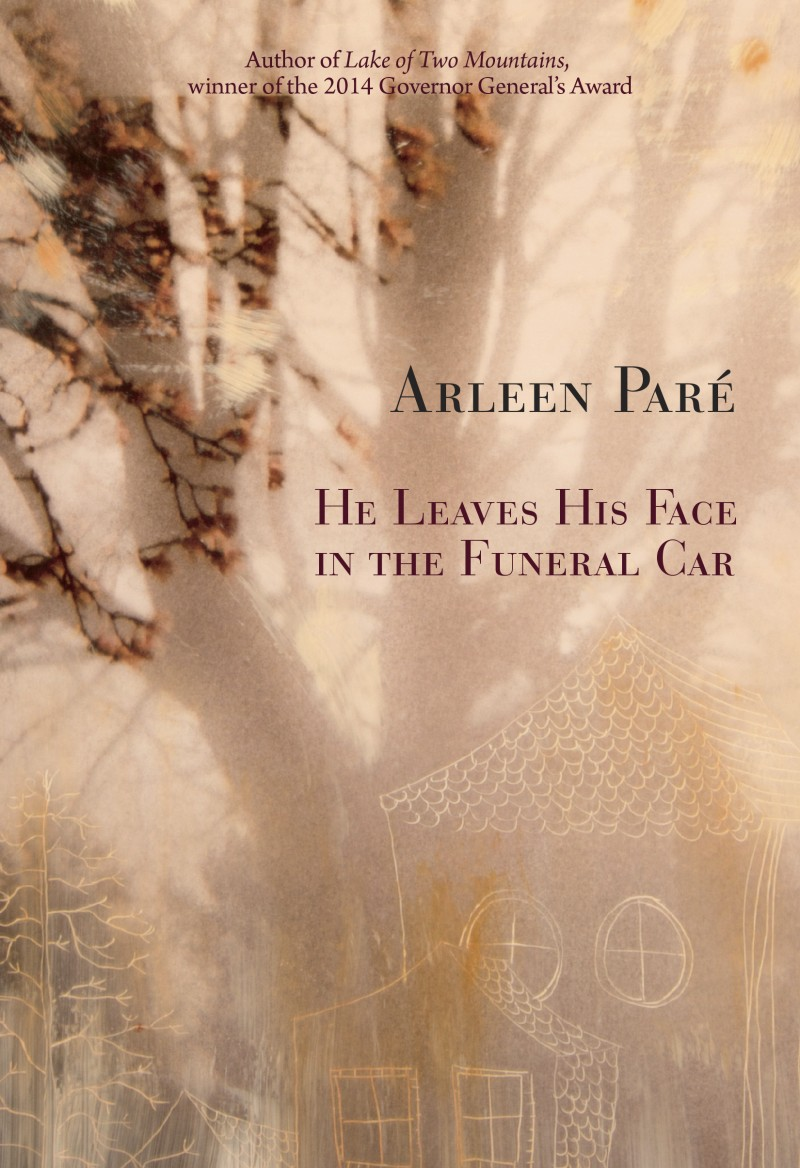 He Leaves His Face in the Funeral Car