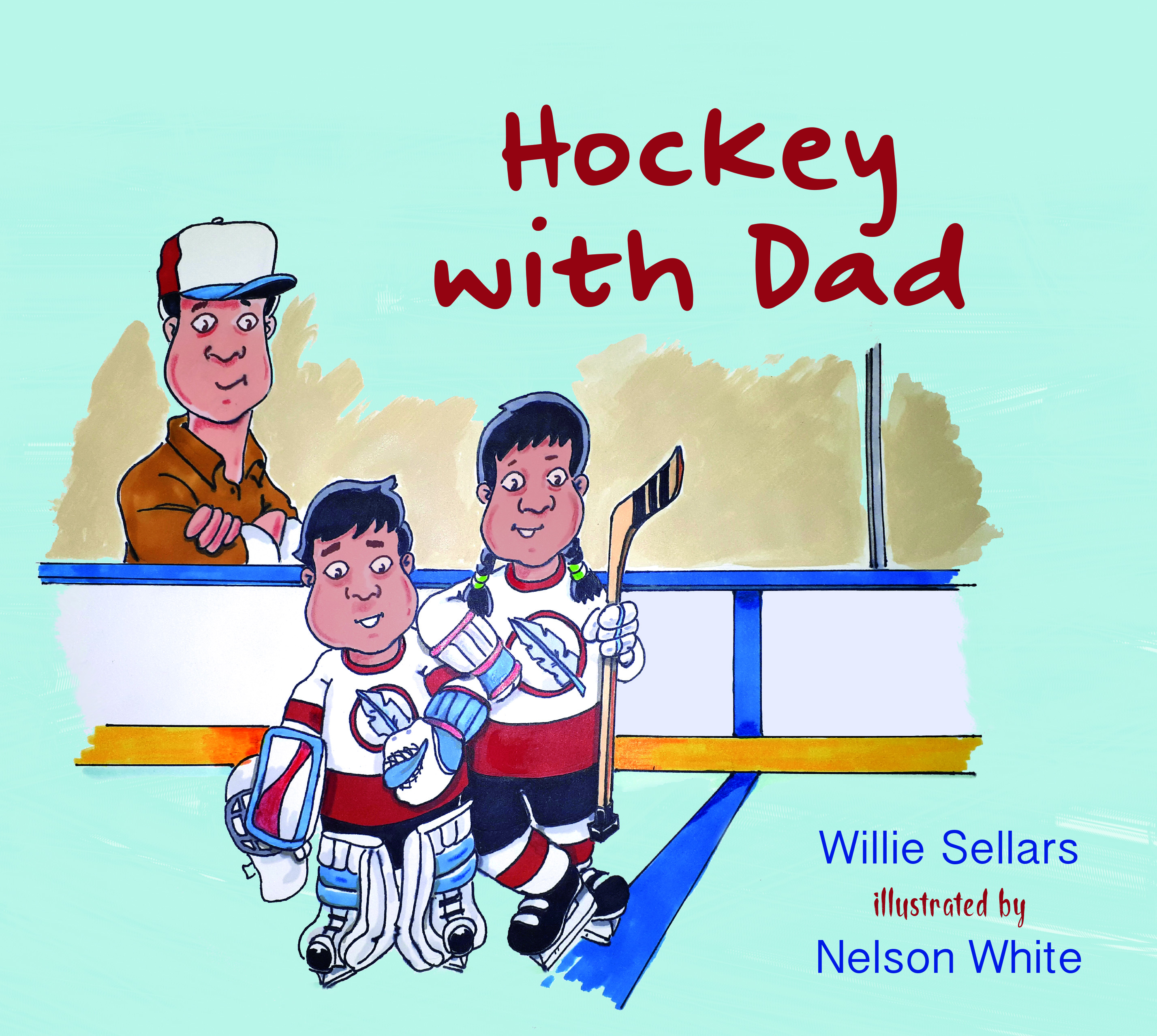 Hockey with Dad
