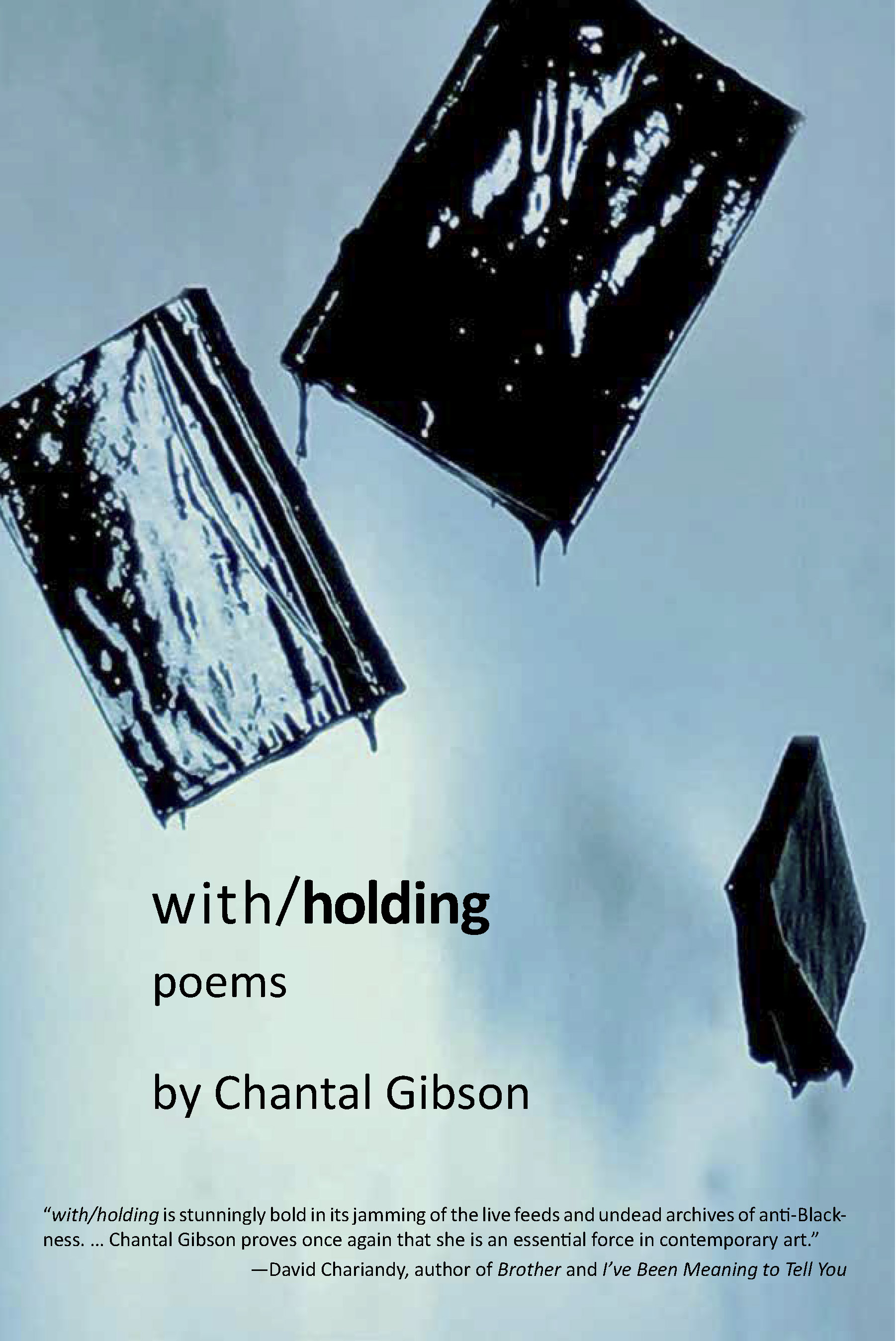 with/holding